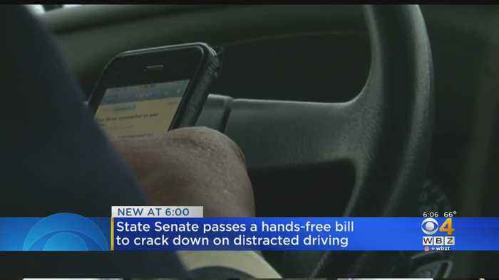 Driver Hand-Held Cellphone Ban Moves Closer To Becoming Law