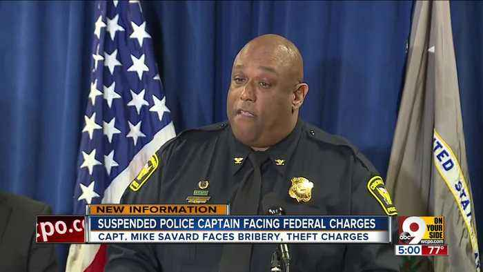 'Very tough day for CPD' as police captain accused of federal crimes