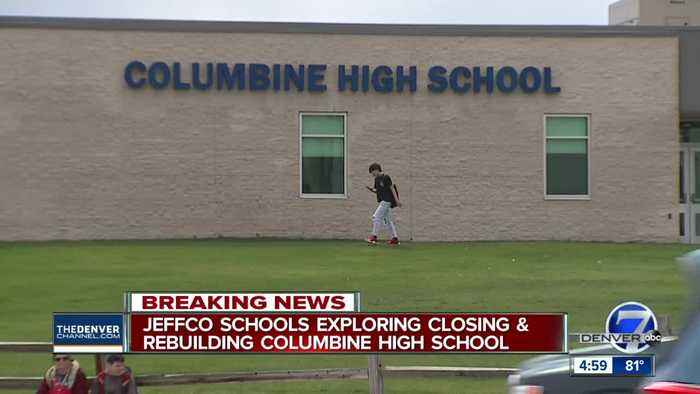 Jeffco Schools 'exploring' the idea of tearing down and rebuilding Columbine High School