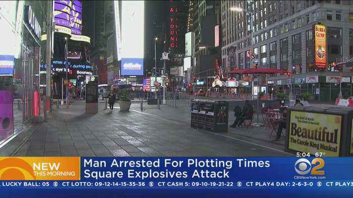 Man Arrested In Times Square Bomb Plot