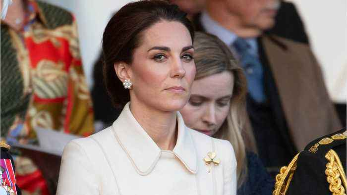 Kate Middleton Makes Stylish Surprise Appearance In London