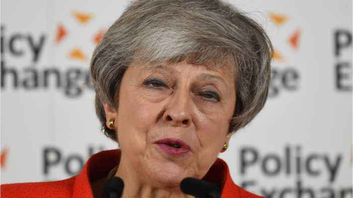 Theresa May Resigns As Leader Of Britain's Conservative Party