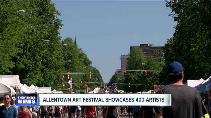 62nd annual Allentown Art Festival highlights hundreds of artists, including local Buffalo students