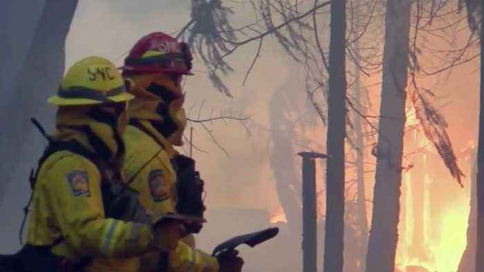 PG&E Warns of Power Shutoffs During Weekend Red Flag Conditions