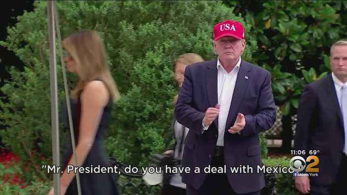 President Trump Announces Deal With Mexico