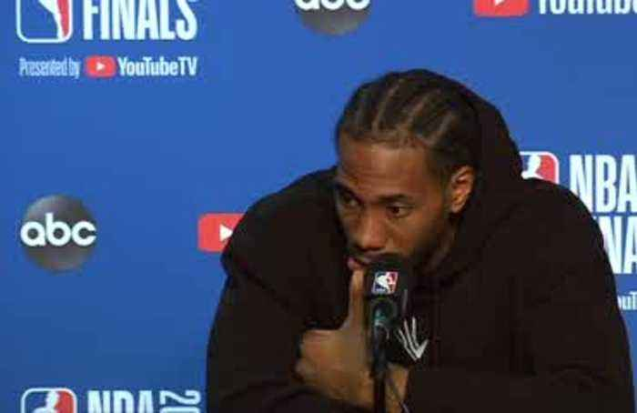 Leonard, Raptors one win from NBA title after game four victory over Warriors