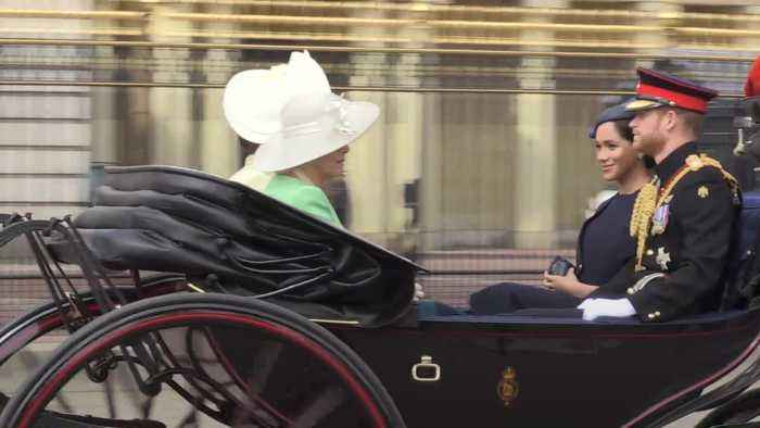 Trooping the Colour: Meghan makes first public appearance since birth of Archie