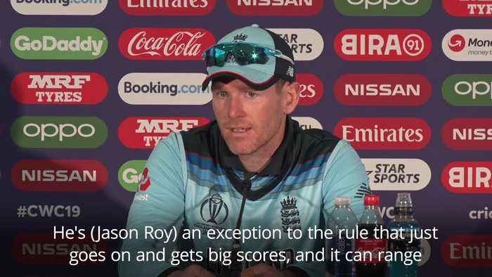 England captain Eoin Morgan: Roy's runs are a 'luxury'