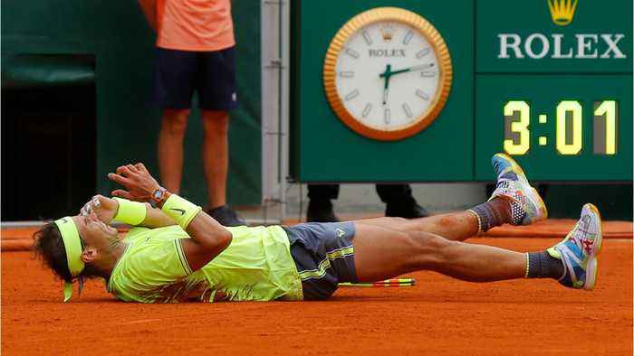 Nadal Not Worried About Beating Federer's Record