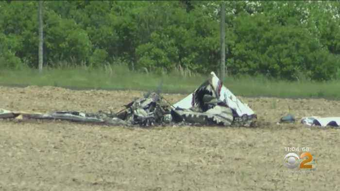 2 Killed, Dog Survives After Small Plane Crashes In Long Island