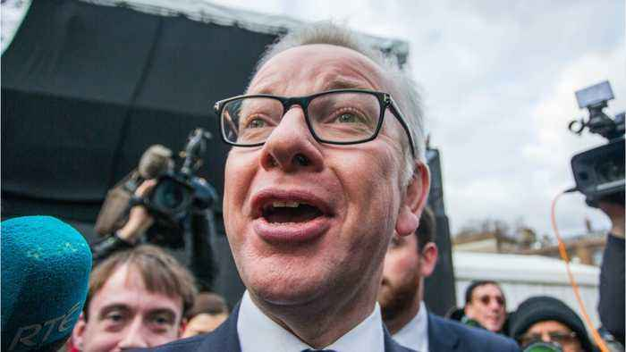 Prime Minister Candidate Gove Open To Short Brexit Delay If Deal Is Possible