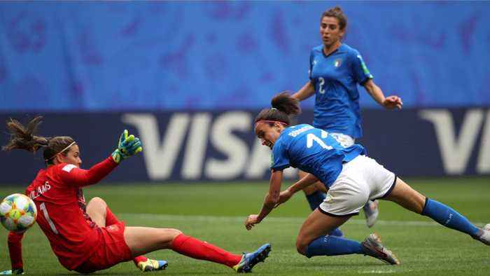 Italy Marks 20-Year Wait With Dramatic Win