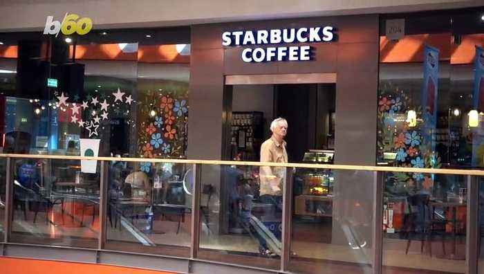 Starbucks Set To Test New Reusable Cup At London Airport