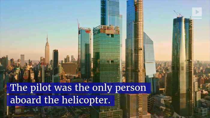 Helicopter Crash Lands on Roof of NYC Skyscraper