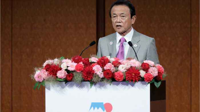 Japan's Aso says US-China trade uncertainty could hurt market confidence