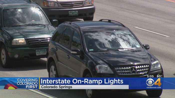 Metered Traffic Lights To Be Installed On I-25 In Colorado Springs
