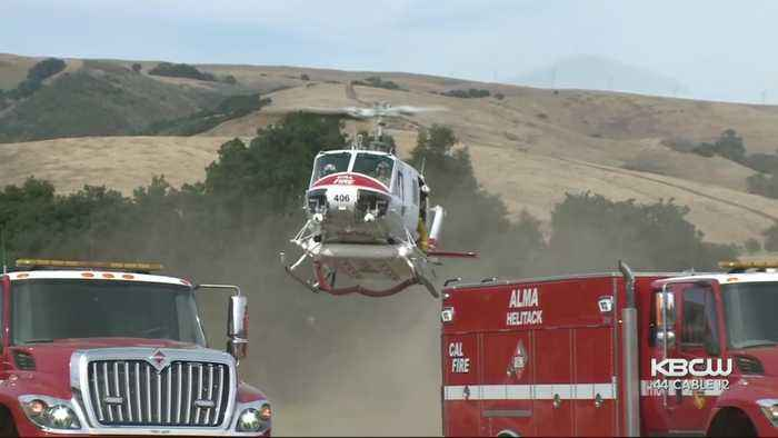 Wildfire Near Morgan Hill Quickly Grows To 210 Acres