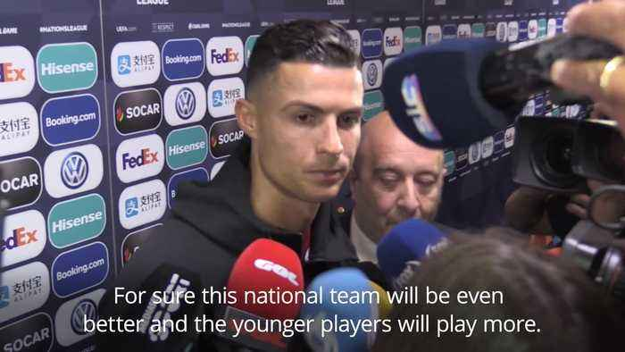 Ronaldo plays down Ballon d'Or talk after Nations League victory