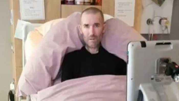 Terminally ill footballer asks fans to attend 'final night'