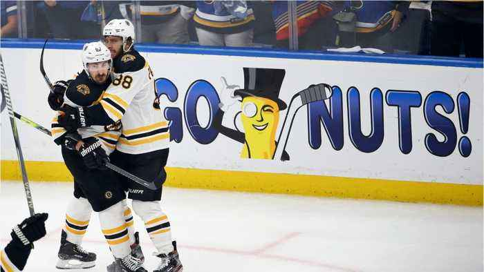 Bruins Force Game 7 With Blues