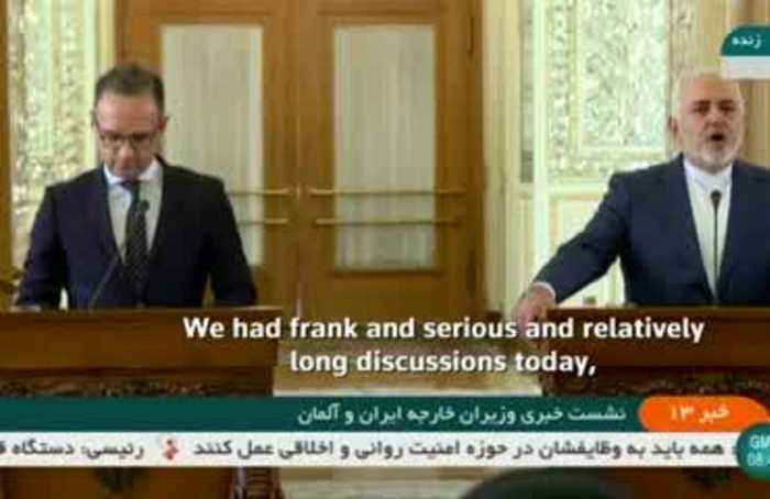 Zarif: Iran's nuclear deal talks with Germany were frank, serious