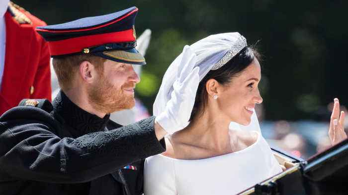 Prince Harry and Duchess of Sussex's private wedding photos reportedly hacked