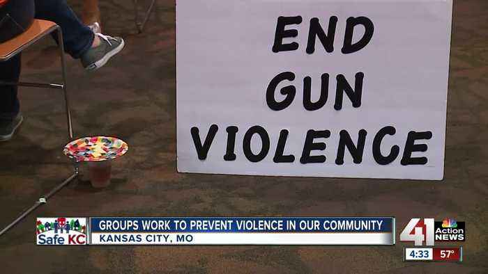 'Put down the guns; it has to stop': Anti-violence rally comes as KCPD investigates 58th homicide
