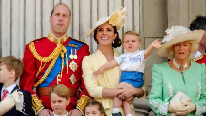 Prince Louis Looks Royaly Unimpressed At His First Public Appearance