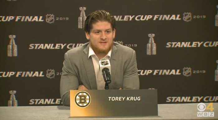 Torey Krug Ready For First Stanley Cup Game 7 In Boston