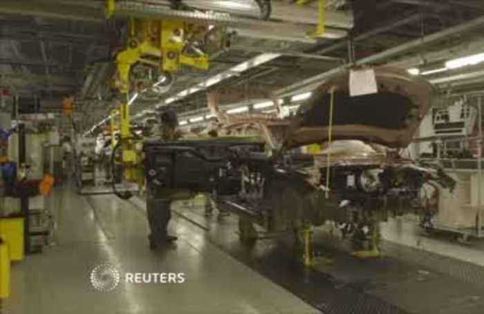 UK economy shrinks in April after car plants closed, expecting Brexit