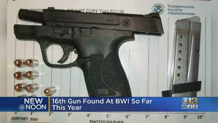 TSA Officers At BWI Airport Catch 16th Gun Of The Year After Man Claims He Forgot He Had It On Him