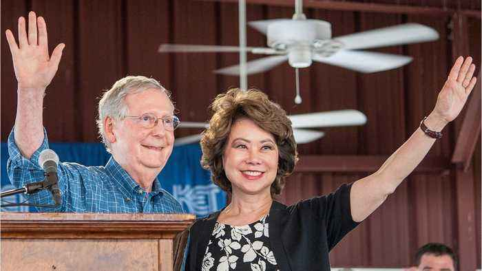Transportation Secretary Elaine Chao Reportedly Steers $78 million In Federal Grants To Her Husband Sen. Mitch McConnell