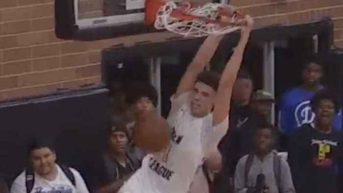 LaMelo Ball Goes OFF In Drew League Debut & LaVar Is CERTAIN He Will Be The #1 Draft Pick Next Year!