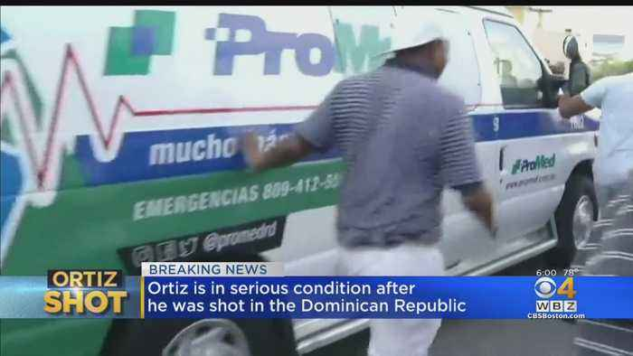 Ortiz Being Transported To Boston After Being Shot