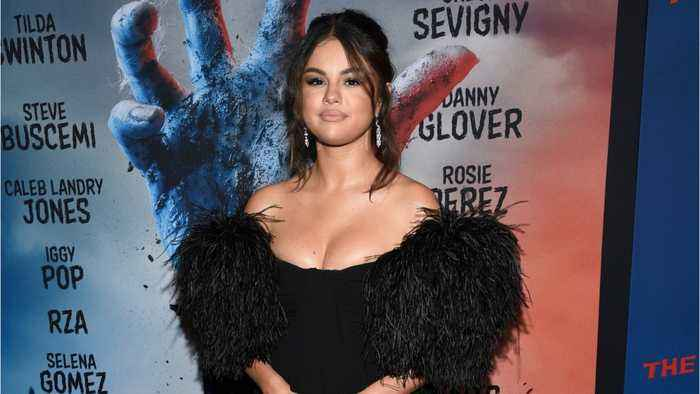 Selena Gomez Wore A $13,000 Minidress Covered In Feathers On The Red Carpet