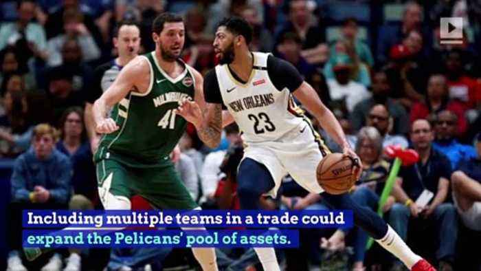 Pelicans Willing to Listen to Multiteam Deals for Anthony Davis