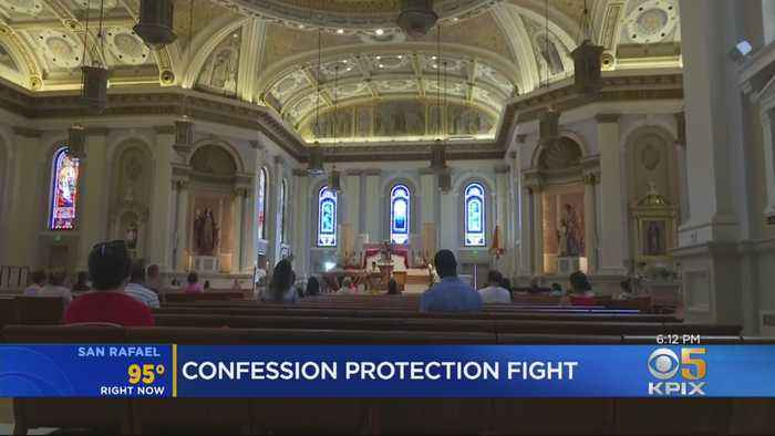 Catholic Church Fights Bill To Force Priests To Report Sex Crimes Heard In Confession
