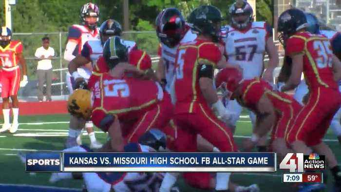 28th annual Kansas vs. Missouri high school football game may be a dogfight
