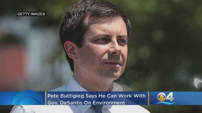 Democratic Presidential Hopeful Pete Buttigieg Says He Can Work With Gov. DeSantis On Environment