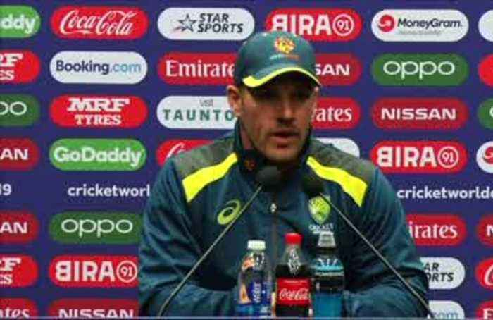 Rain could 'play a huge part' in Australia vs Pakistan match - Finch