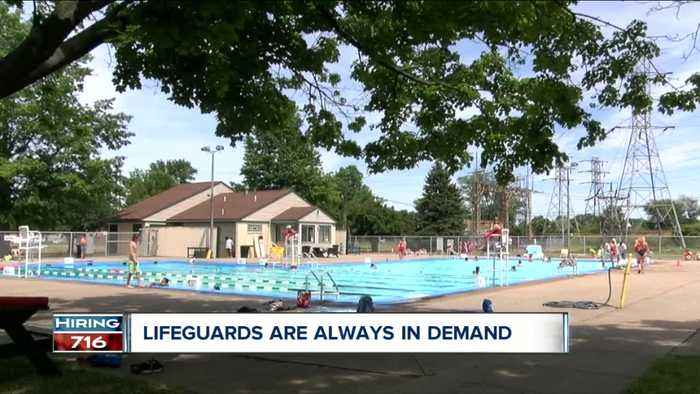 Still need a summer job? YMCA and City of Buffalo are hiring lifeguards