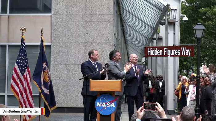 NASA Renames Street Outside Headquarters, Honoring 'Hidden Figures'