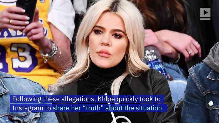 Khloe Kardashian Responds to Claims She Cheated With Tristan Thompson