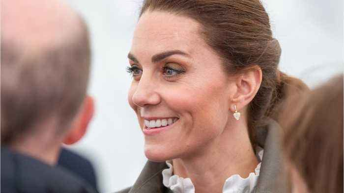 Kate Middleton channels a Princess Diana look