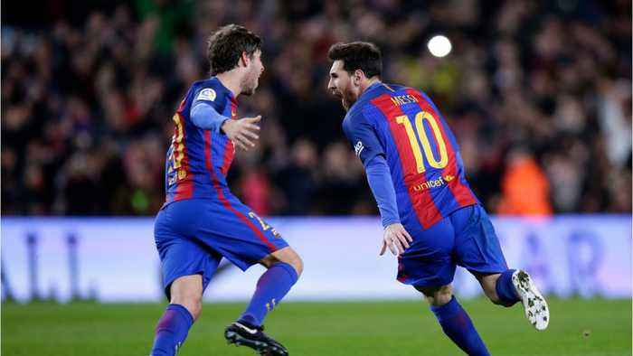 Messi is the world's highest paid athlete