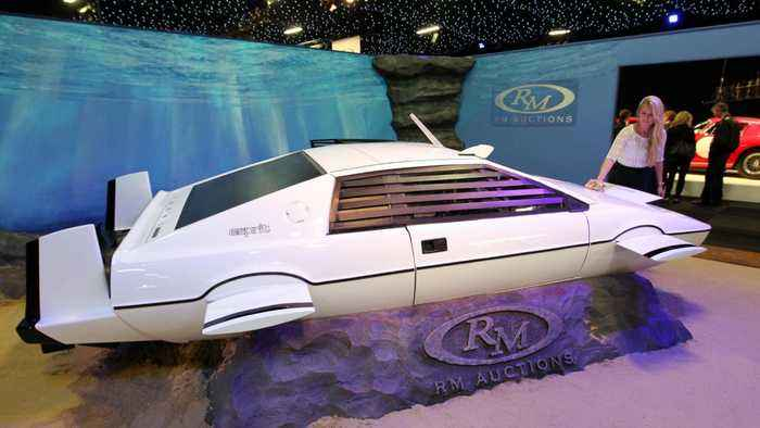Elon Musk says a James Bond style submarine car could be in the future
