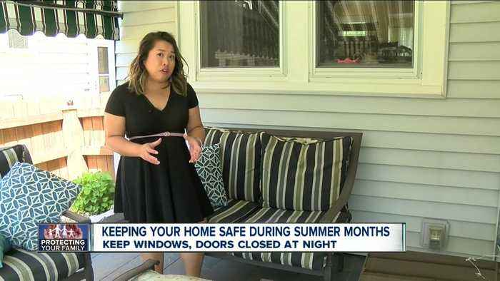 Patio furniture luring summertime thieves