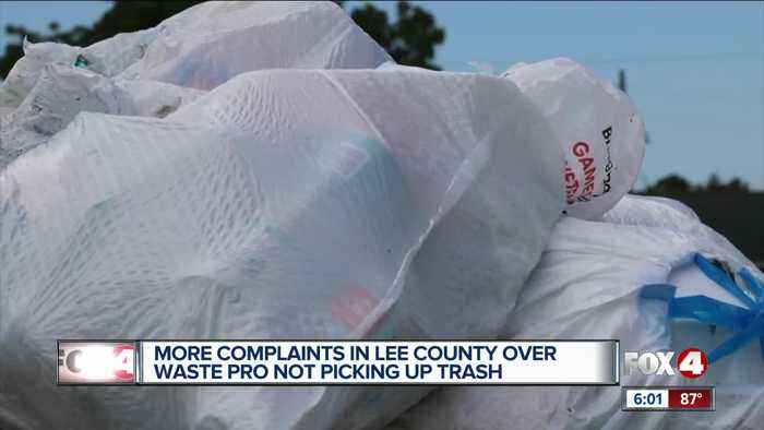 More waste pro complaints in lee county