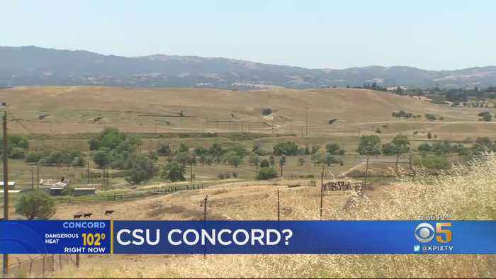 Former Concord Naval Weapons Station May Be Site Of New CSU Campus