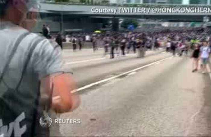 'They don't care about our voices': thousands rally in Hong Kong